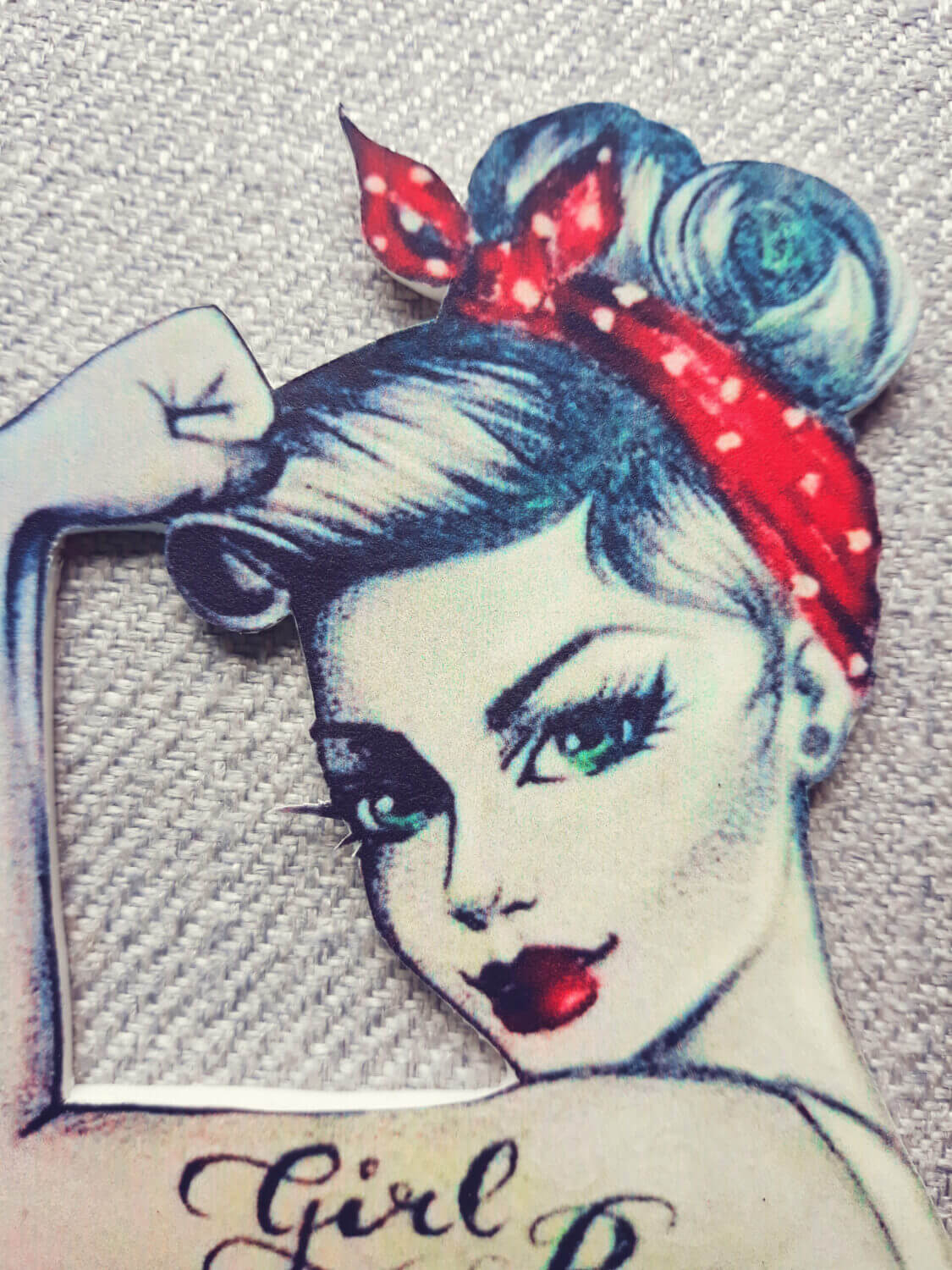 wydruk na bok tortu pin up girl