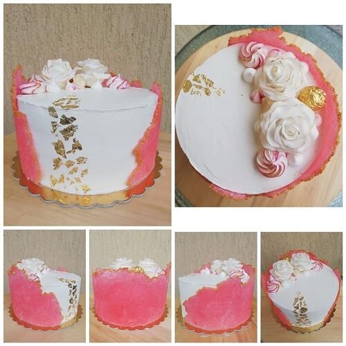 Sugar sheet w wykonaniu Pani Agnieszki Kurleto czytelniczki bloga CakeIT