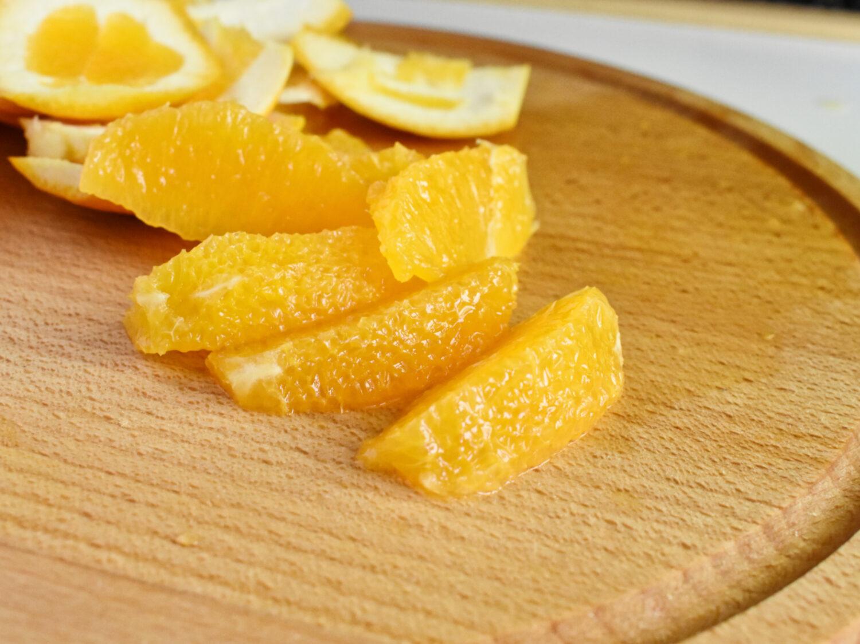 filetowanie pomarańczy