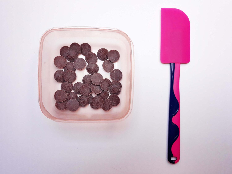 Mini tabliczki czekolady czyli jak łatwo temperować czekoladę