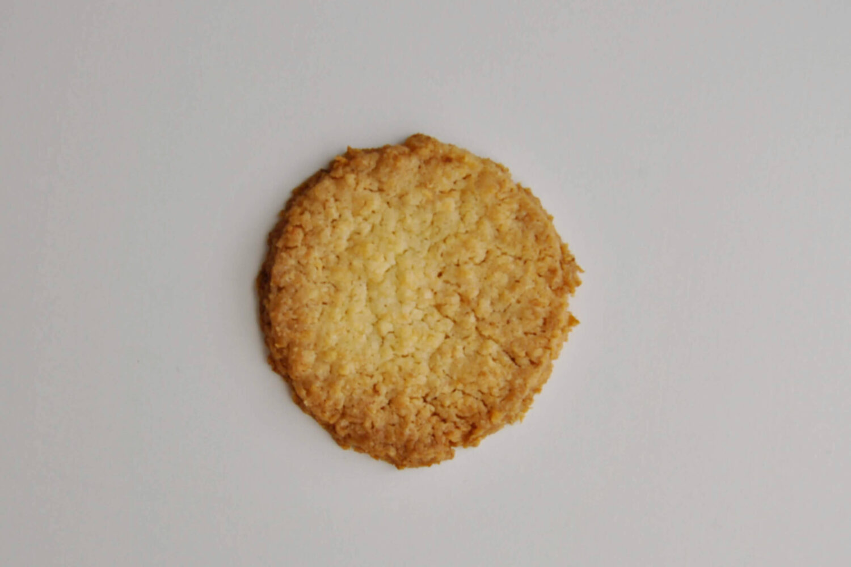 kruche ciasteczko kokosowe, monoporcje jajka