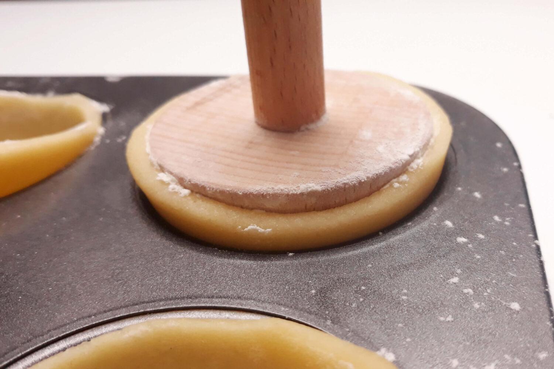 kształtowanie tartaletek, narzędzie do tartaletek, forma do muffin
