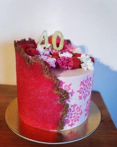 Sugar sheet w wykonaniu Pani Wojety Rydzewskiej czytelniczki bloga CakeIT