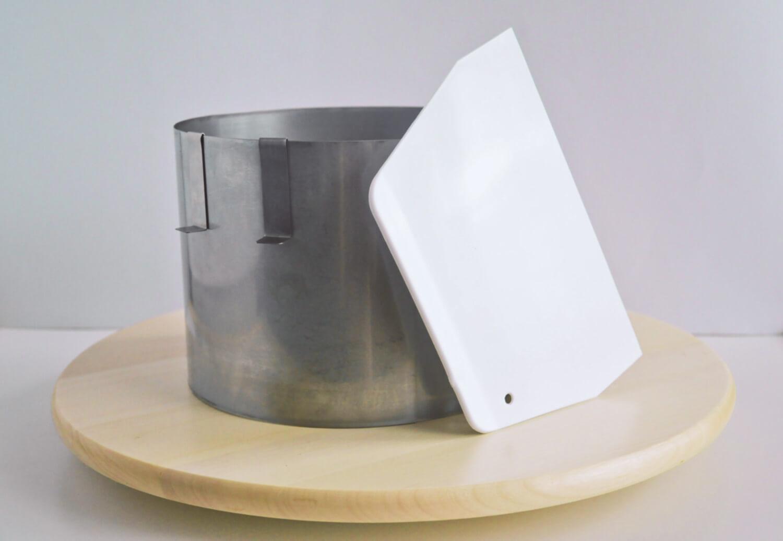 podstawowe narzędzia do dekorowania tworzenia tynkowania składania tortów rant cukierniczy packa skrobka cukiernicza talerz patera obrotowa