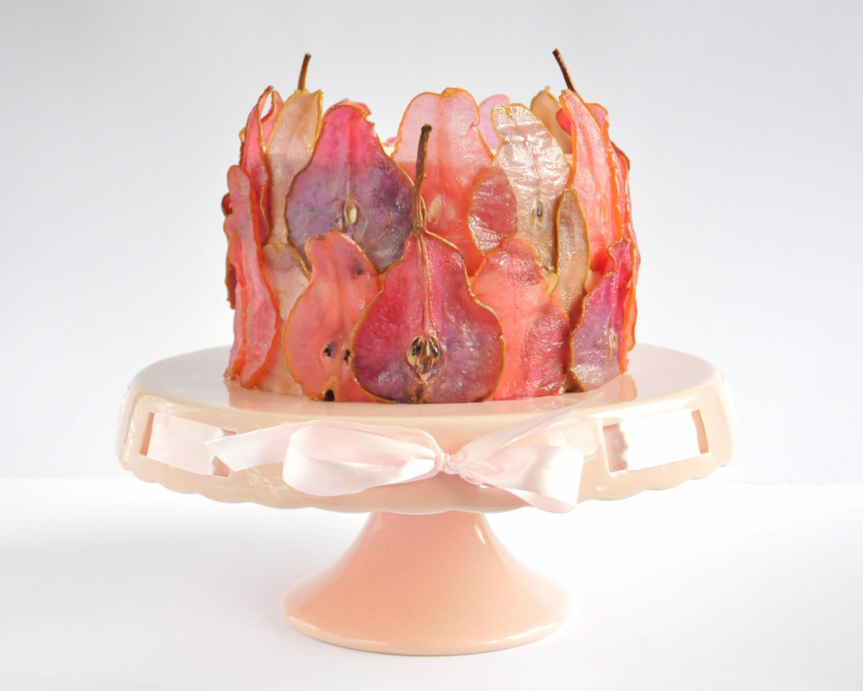 Jak zrobic kolorowe plastry gruszek