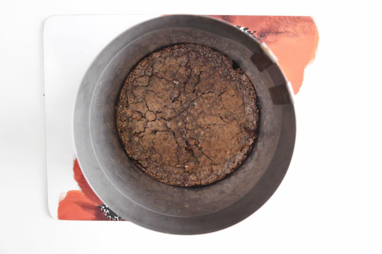 pieczony krem czekoladowy, folia rantowa, regulowany rant cukierniczy