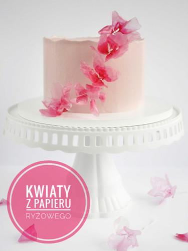 proste kwiaty z papieru ryżowego tutorial krok po kroku