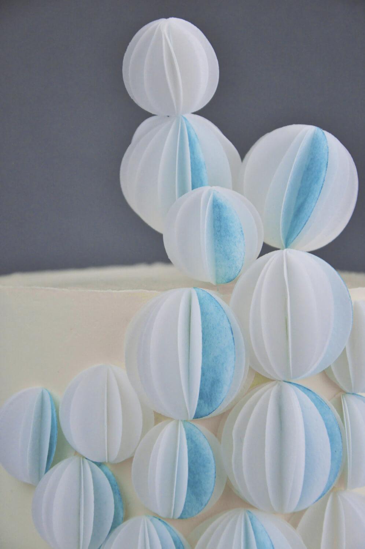 dekoracje z papieru waflowego