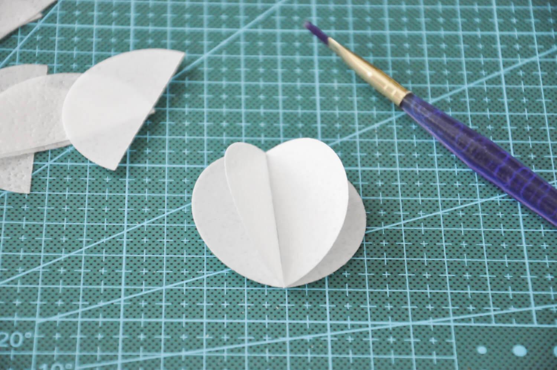 kule z papieru waflowego