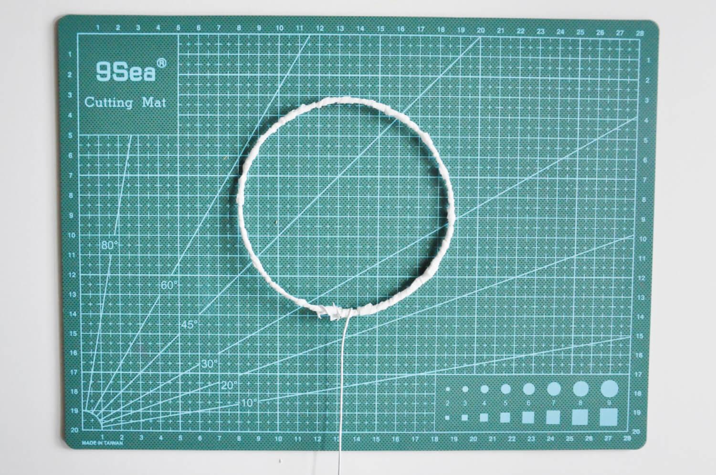 Instrukcja jak zrobić topper z drutu florystycznego