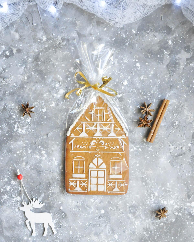 kamieniczki z piernika - pomysł na prezent świąteczny