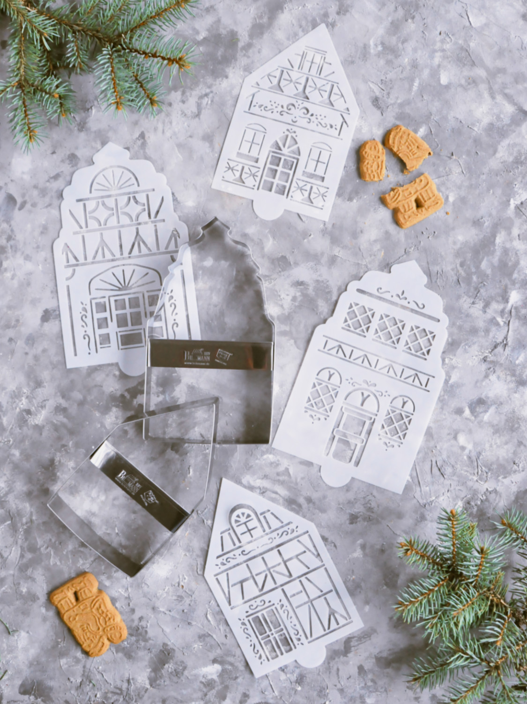 Poradnik prezentowy – prezenty dla torciar i fanek pieczenia - zestaw wykrawaczy i szablonów do lukrowania pierników