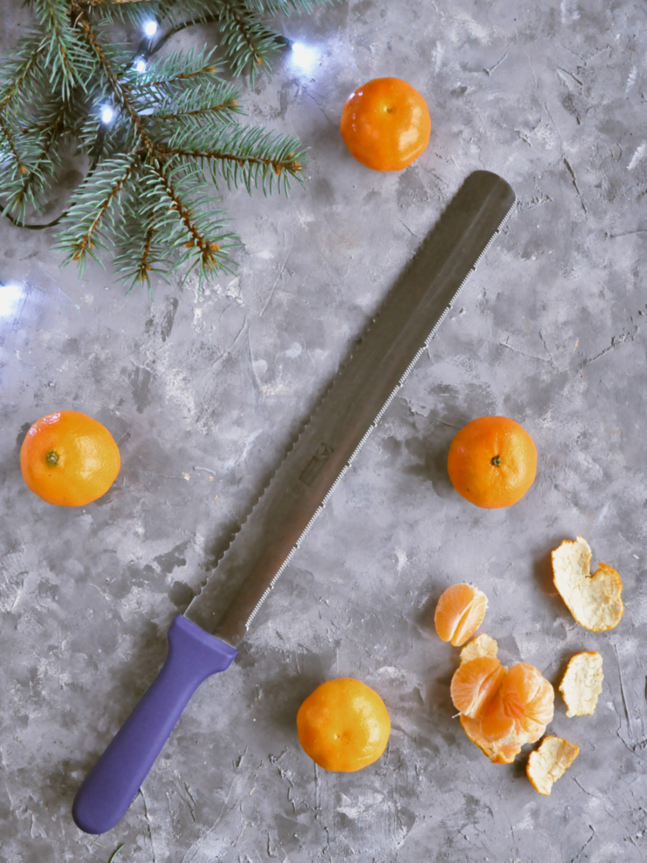 Poradnik prezentowy – prezenty dla torciar i fanek pieczenia - nóż do biszkoptu