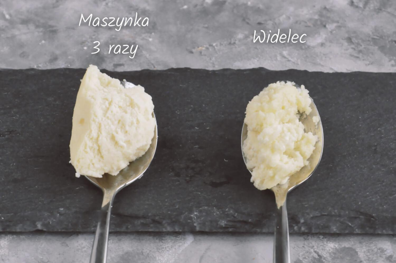 Jak zmielić twaróg? Test sernikowy. Wybierz najlepszą metodę. ser zmielony w maszynce do mięsa i ugnieciony widelcem
