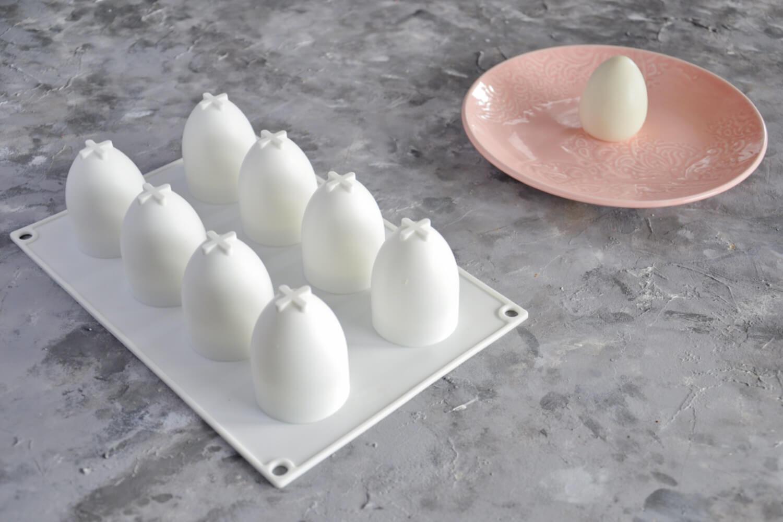 formy do monoporcji - forma w kształcie jajka