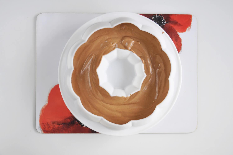 czekoladowe ciasto musowe z żelką pomarańczową, forma silikonowa na ciasto musowe