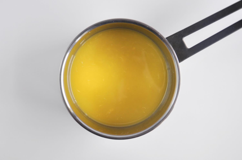 przygotoewanie żelki pomarańćzowej