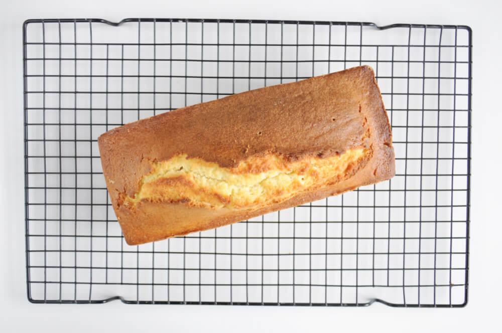 ucierane ciasto cytrynowe