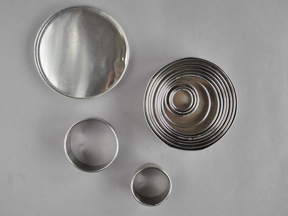 Polecane produkty z Aliexpress - wykrawacze w kształcie kółek, zestaw