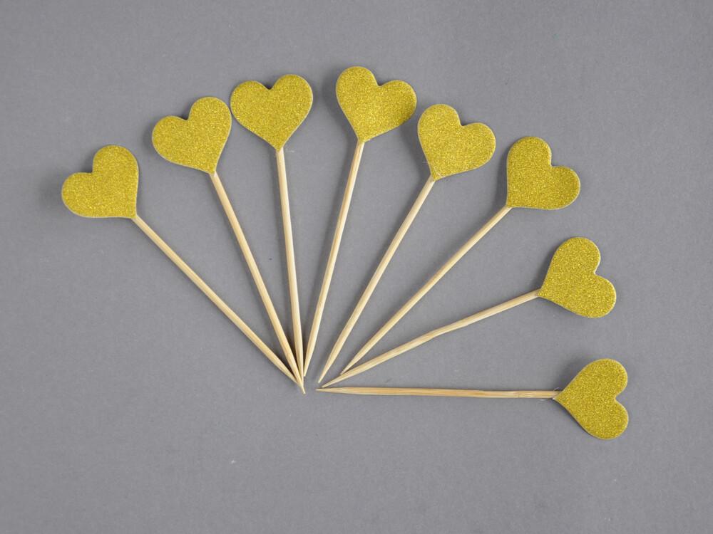 Polecane produkty z Aliexpress - toppery małe serca