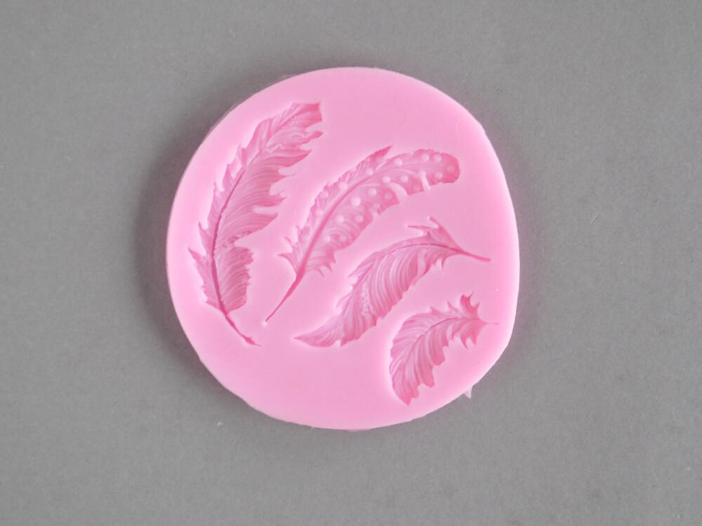 Polecane produkty z Aliexpress - forma silikonowa do masy cukrowej piórka