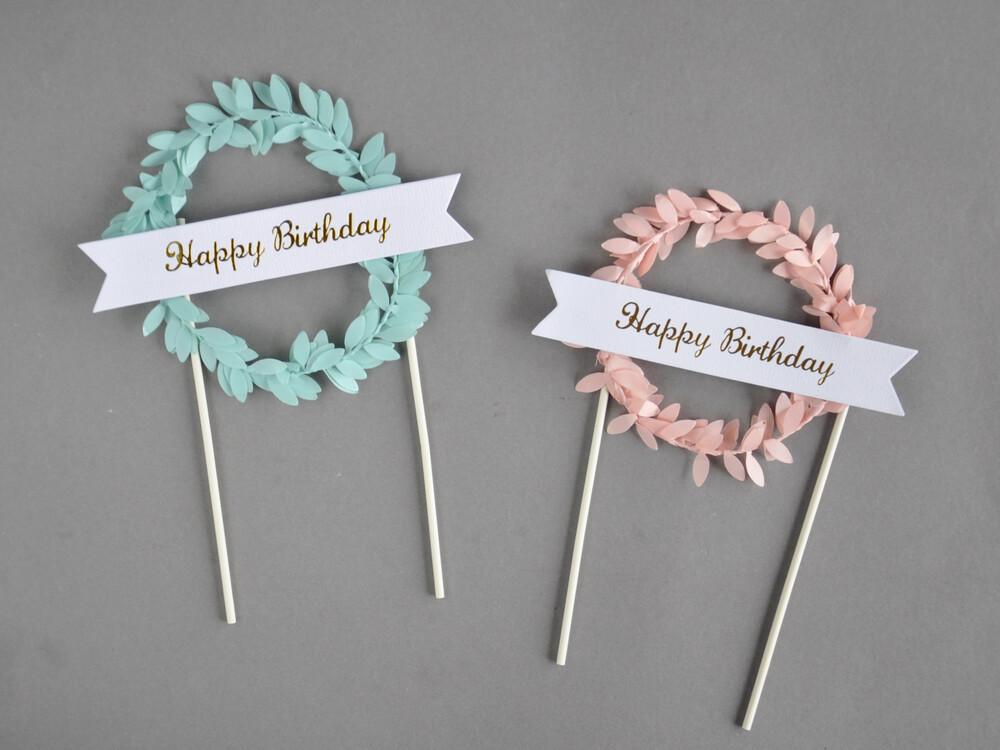 Polecane produkty z Aliexpress - topper listki happy birthday