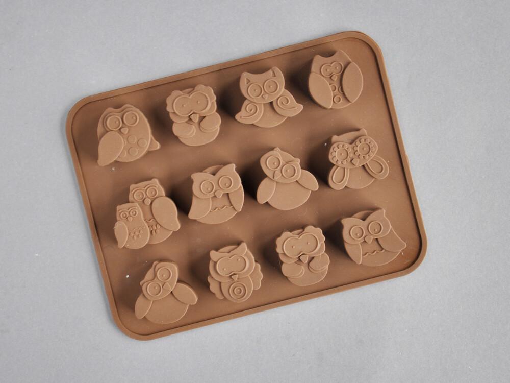 Polecane produkty z Aliexpress - forma silikonow sówki
