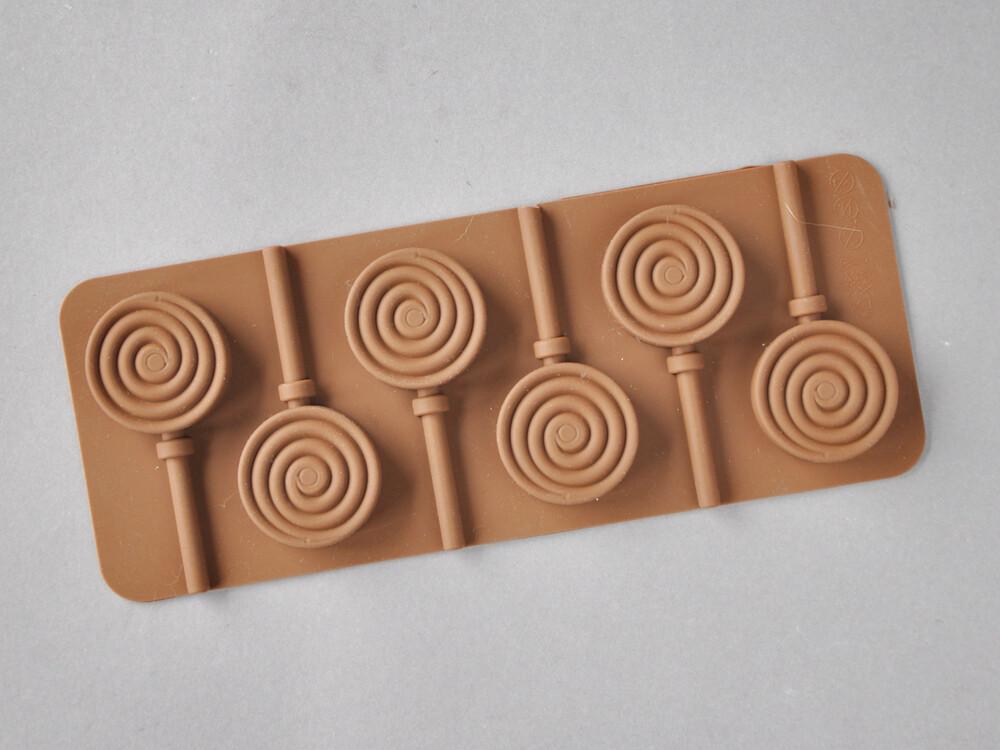 Polecane produkty z Aliexpress - forma silikonowa na lizaki w kształcie spirali