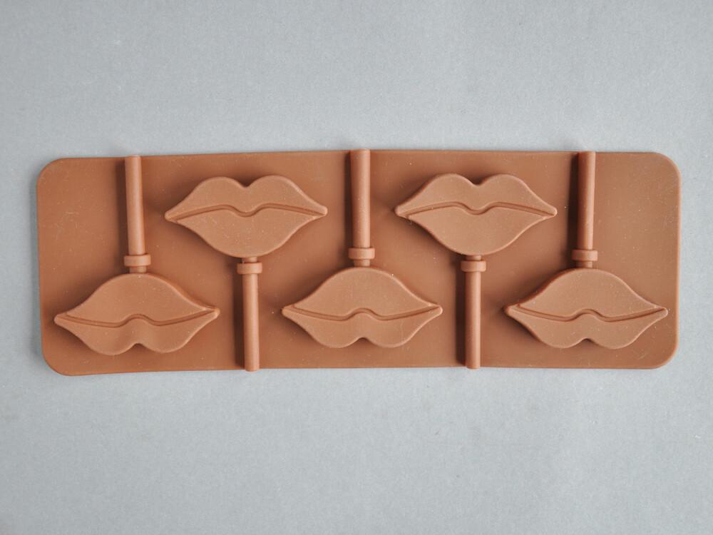 Polecane produkty z Aliexpress - forma silikonowa na lizaki w kształcie ust