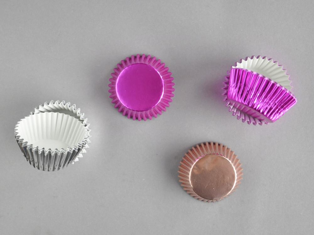 Polecane produkty z Aliexpress - papilotki tłuszczoodporne błyszczące
