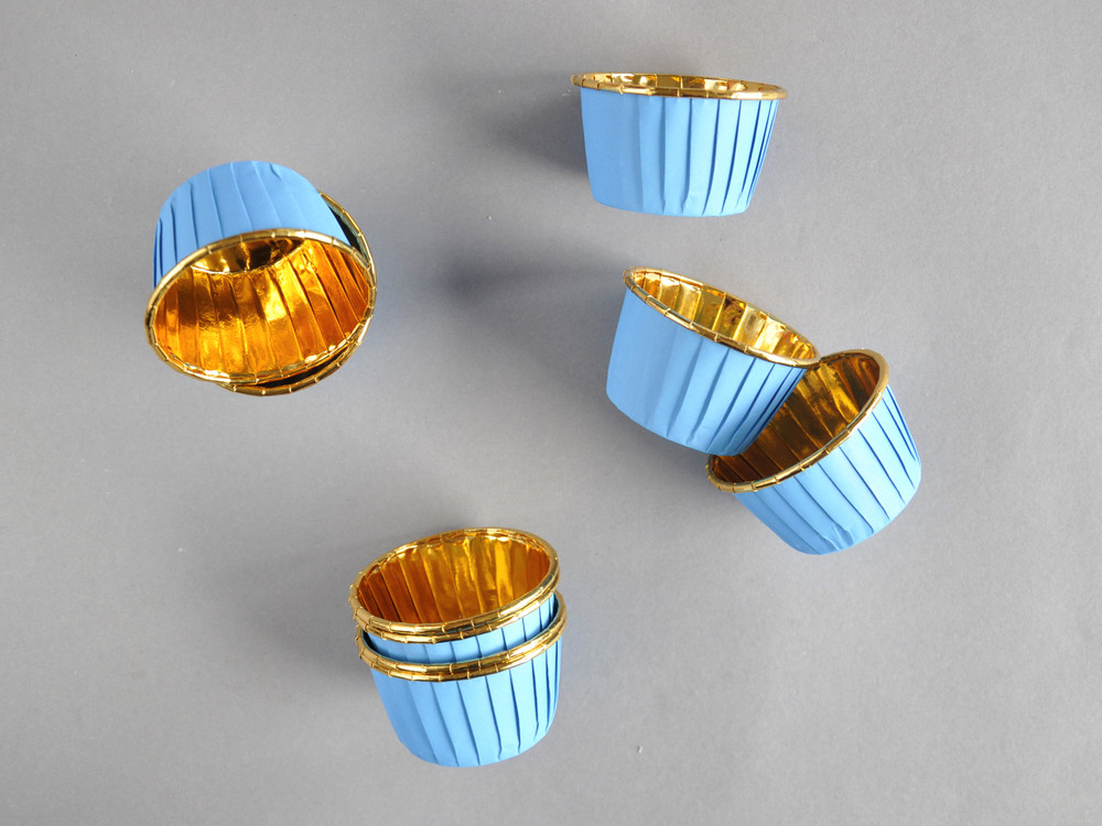 Polecane produkty z Aliexpress - Papilotki sztywne, foliowane, ze złotym rantem