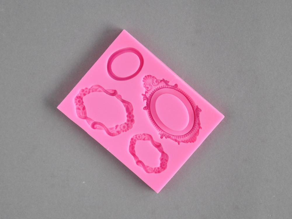 Polecane produkty z Aliexpress - Foremka silikonowa do masy cukrowej - ramki