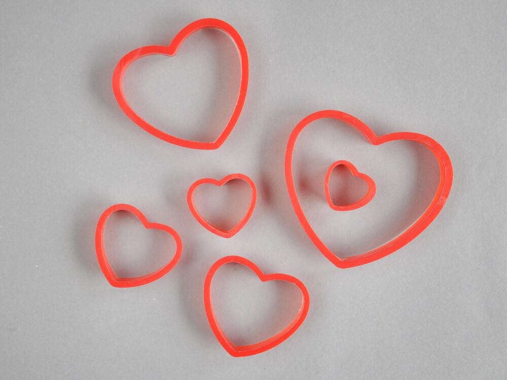 Polecane produkty z Aliexpress - Plastikowe wykrawacze w kształcie serca