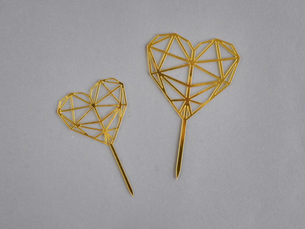 Polecane produkty z Aliexpress - topper geometryczne serce