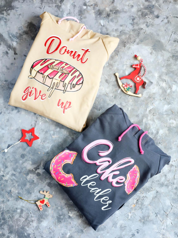 Poradnik prezentowy – prezenty dla torciar i fanek pieczenia - bluzy z nadrukiem Donut give up, Cake dealer od To się nosi